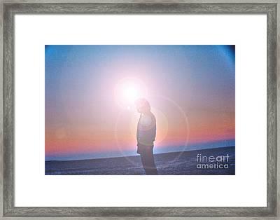 Flare Framed Print