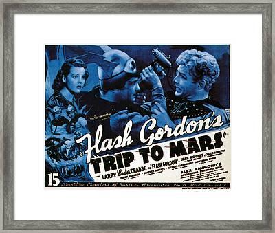 Flash Gordons Trip To Mars, Top Left Framed Print