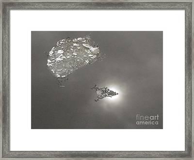 Flash Framed Print by Yury Bashkin