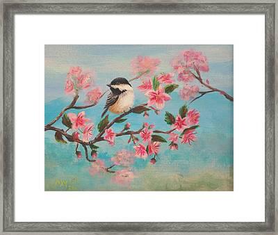 Flathead Spring Blossoms Framed Print by Misty Mueller