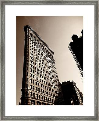 Flatiron Building - New York City Framed Print by Vivienne Gucwa