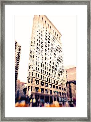 Flatiron Building Nyc Framed Print by Kim Fearheiley