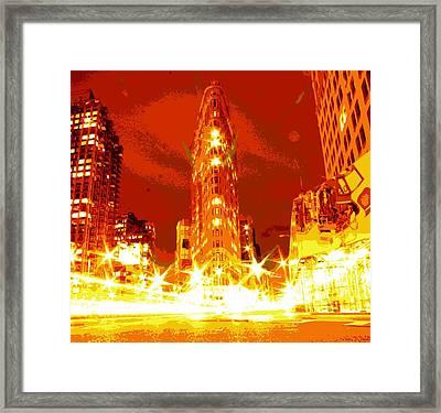 Flatiron Color 16 Framed Print by Scott Kelley