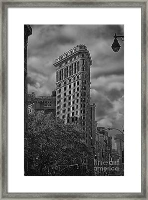 Framed Print featuring the photograph Flatiron by Vicki DeVico