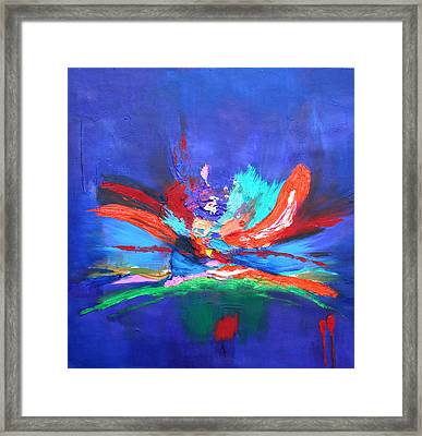 Fleeting Moment I Framed Print by Karin Eisermann