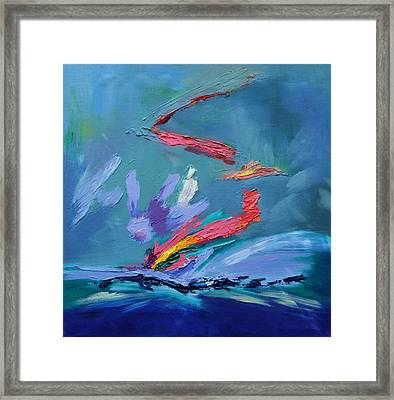 Fleeting Moment II Framed Print by Karin Eisermann