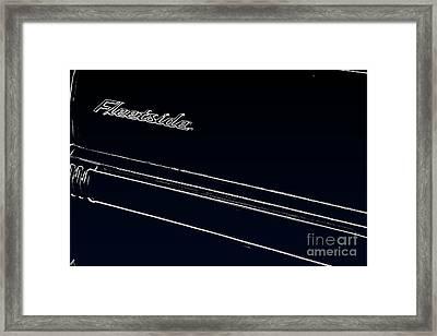 Fleetside Framed Print by Joe Finney