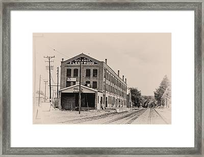 Fleetwood Autobody Factory Framed Print by Bill Cannon