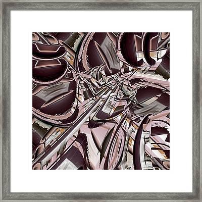 Flex Flax Framed Print by Paul Moss