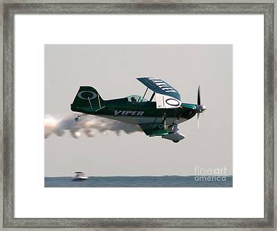 Flight Framed Print by Clint Day