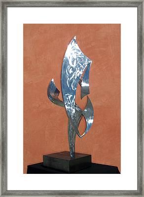 Flight Of Daphne Framed Print by John Neumann