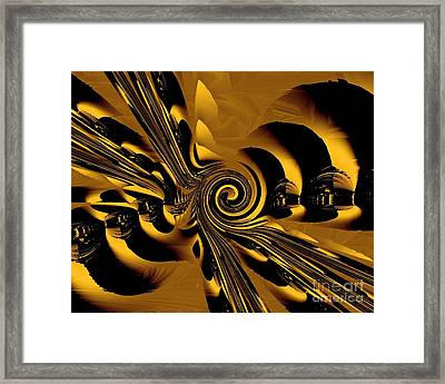 Flight Of The Bumblebee Framed Print by Michelle H