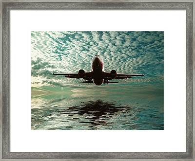 Flight Path Framed Print