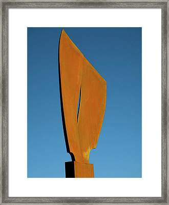 Flight-second Image Framed Print by Robert Hartl