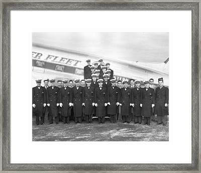 Flight Stewards Framed Print by Archive Photos