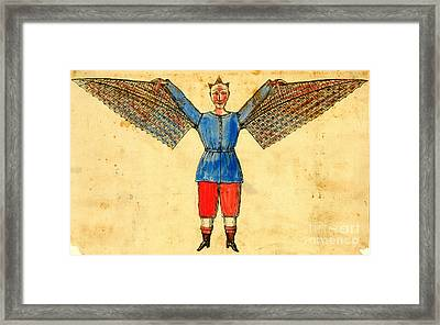Flight Suit 1815 Framed Print by Padre Art