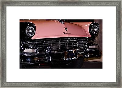 Flirtacious Fairlane Framed Print by DigiArt Diaries by Vicky B Fuller