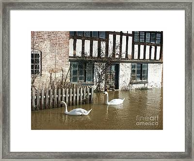 Floating By Framed Print
