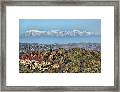 Floating In The Sky Framed Print