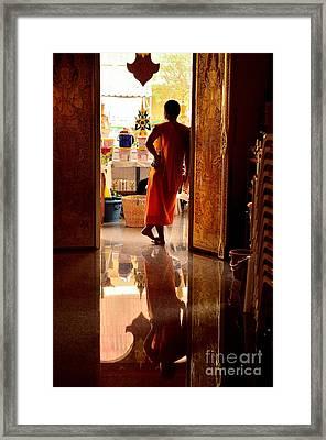 Floating World Framed Print by Dean Harte