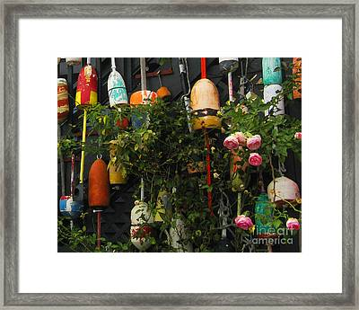 Floats And Roses Framed Print by Patricia Januszkiewicz