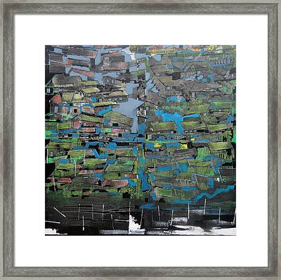 Flood Framed Print