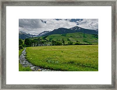 Flood Relief Framed Print by Roderick Bley