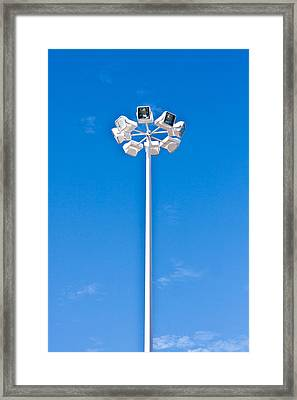 Floodlight Framed Print by Tom Gowanlock