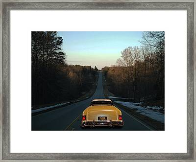 Floor It Framed Print by Bill Dutting