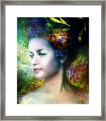 Flora Framed Print by Mary Hood