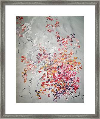 Floral Bouquet Framed Print