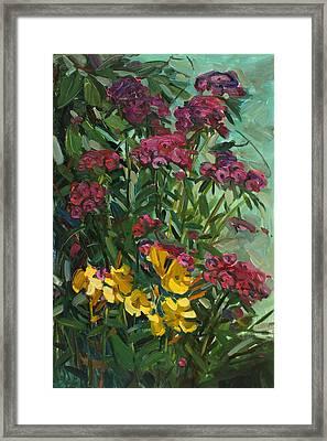 Floral Dance Framed Print