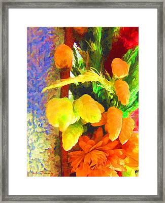 Floral Delights 2095 Framed Print by Maciek Froncisz
