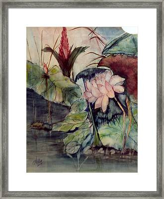 Floral Elegance Framed Print