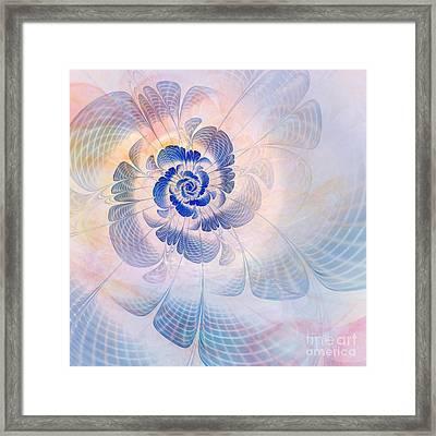 Floral Impression Framed Print by John Edwards