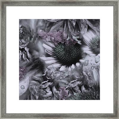 Floral Montage No.1 Framed Print by Bonnie Bruno