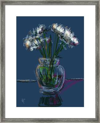 Floral No. 25 Framed Print by Russell Pierce