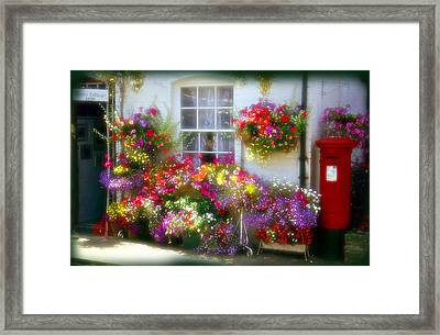 Framed Print featuring the photograph Floral by Rod Jones