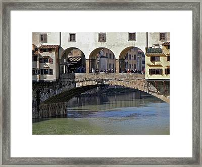 Florence II Framed Print by David Ritsema