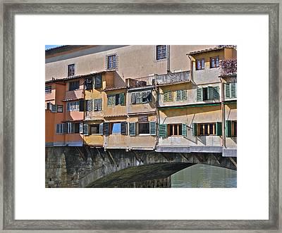 Florence Iv Framed Print by David Ritsema