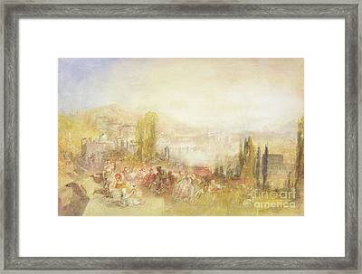 Florence Framed Print by Joseph Mallord William Turner