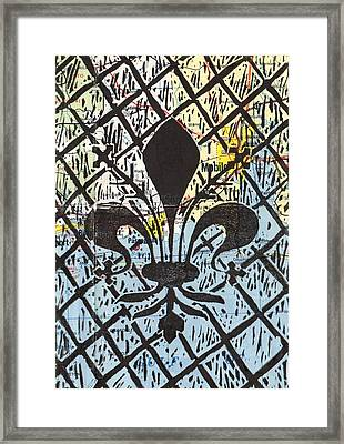 Florentine Fleur Gulfport Mobile Framed Print by Julia Forsyth