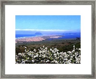 Flores De Los Osos Framed Print by Kurt Van Wagner