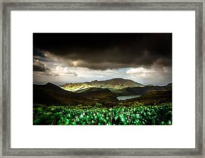 Flores Island - Azores Framed Print by Edgar Laureano