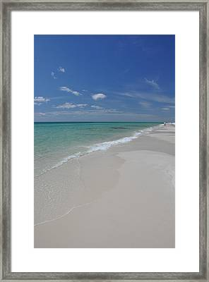 Florida Beach Framed Print