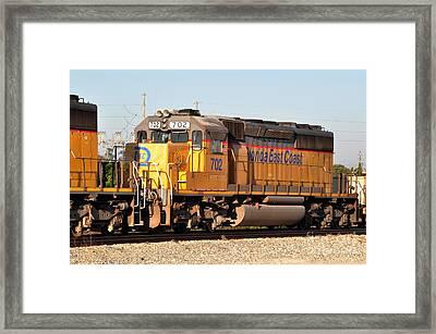 Florida East Coast Sd40-2 702 Framed Print