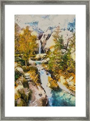 Florida Fall - Digital Painting Framed Print