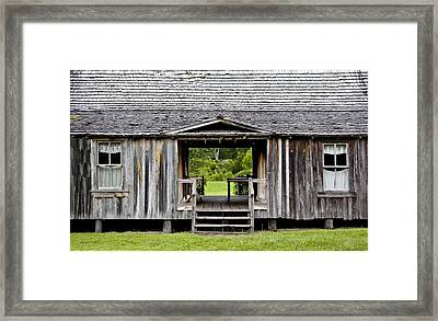 Florida House Framed Print
