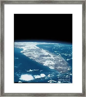 Florida Framed Print by NASA / Science Source