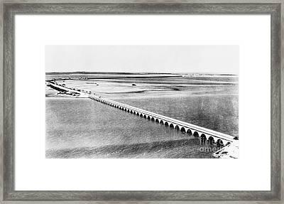 Florida: Overseas Bridge Framed Print by Granger